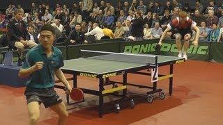 Vyacheslav BUROV vs LI Yang Match for 3rd PLACE Russian Premier League Playoff Table Tennis