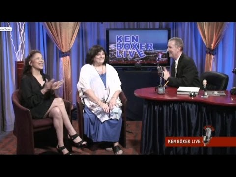 """Ken Boxer Live,"" Legendary Actress Angela Cartwright is Guest, with Co-Host Tai Babilonia"