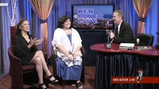 """""""Ken Boxer Live,"""" Legendary Actress Angela Cartwright is Guest, with Co-Host Tai Babilonia"""