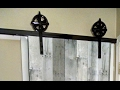 'On The Fly...DIY' Sliding Barn Door