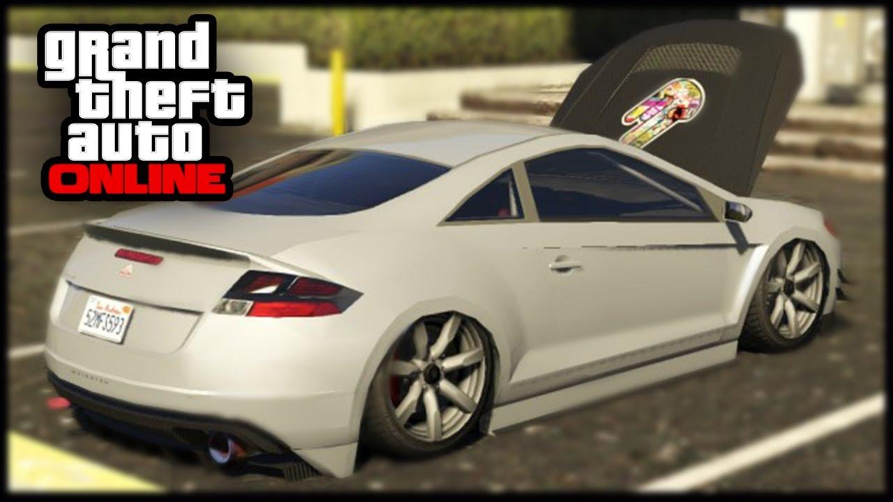 "GTA 5 Cars - Suspension Trick Online - Car Customization Guide In GTA V Online ! ""GTA 5 Online ..."