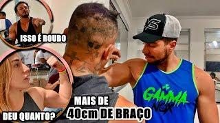 SÓ ENTRA NO ROLÊ QUEM TIVER MAIS DE 40 DE BRAÇO