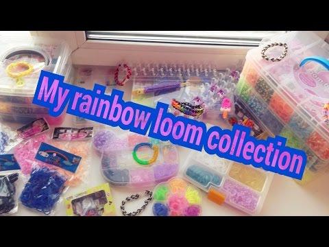 Моя коллекция резинок для плетения браслетов / My Rainbow Loom Collection