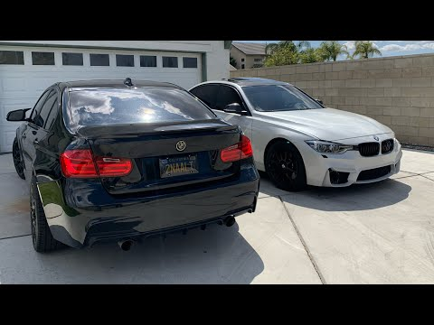 M3 Style Competition Rims Or M3 Style Front Bumper? On F30 Bmw Review. *340i* *328i*