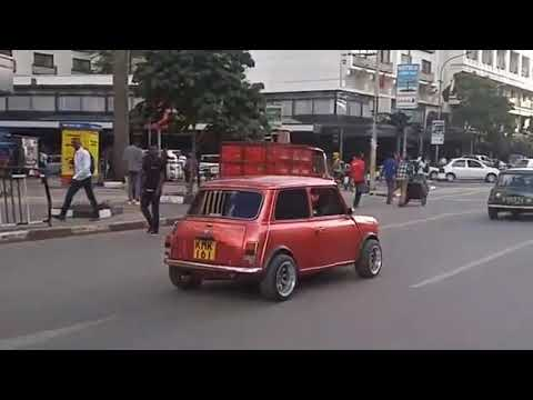 Vintage Cars on the Streets Of Nairobi Kenya