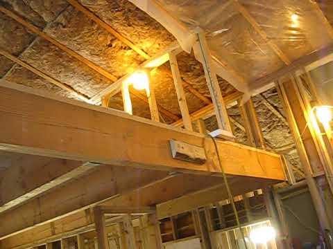 House Building Part 18 Insulation Vapor Barrier Youtube