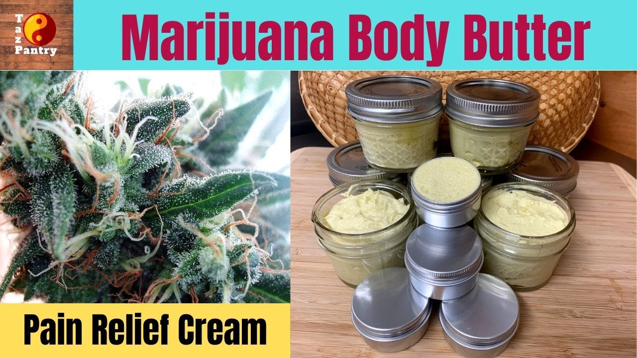 Download Marijuana Body Butter | Cannabis Facial Moisturizer | Pain Relief Cream