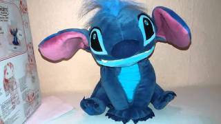 Toy Review : Disney Lilo and Stitch Animators Collection Interactive Stitch Plush