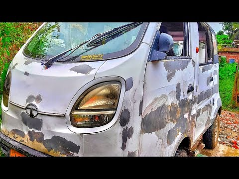 Car painting yourself at home | car Restoration | car painting