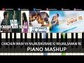 Piano Mashup Bollywood Love Songs|Chahun Main Ya Naa,Sanam re,Muskurane Ki Wajah By Ganesh Kini