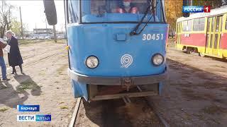 Фото В «Горэлектротрансе» рассказали, чем примечательны подаренные Барнаулу московские трамваи