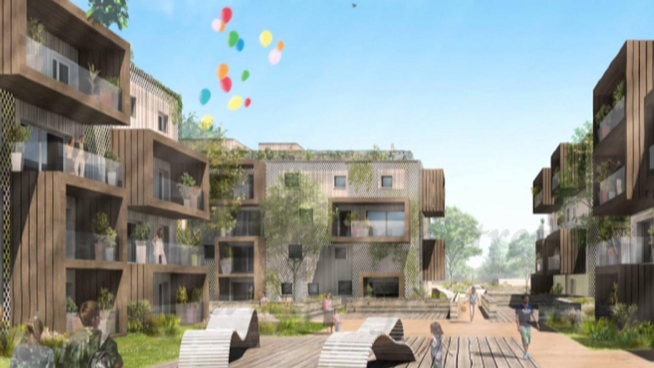 Icade Eco Quartier De L Artigon 33600 Pessac Youtube