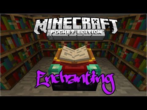 Minecraft Pocket Edition Enchanting Mod! (WORKING)