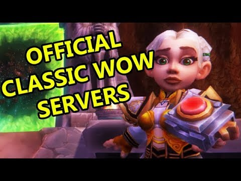 OFFICIAL CLASSIC WOW SERVERS, NEW BATTLE FOR AZEROTH EXPANSION, BLIZZCON 2017 HYPE