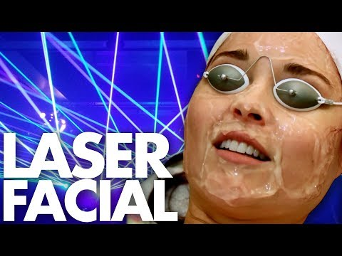 We Got Medical Grade LASER Facials (Beauty Trippin)