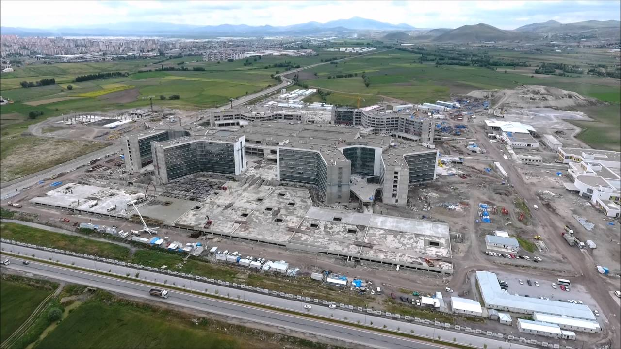 Ankara Şehir Hastanesi: Kayseri Şehir Hastanesi Projesi Haziran 2016