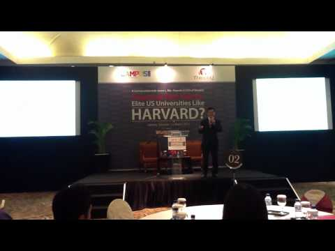 Jason Ma's Keynote on Preparing for Harvard and Other Elite Universities