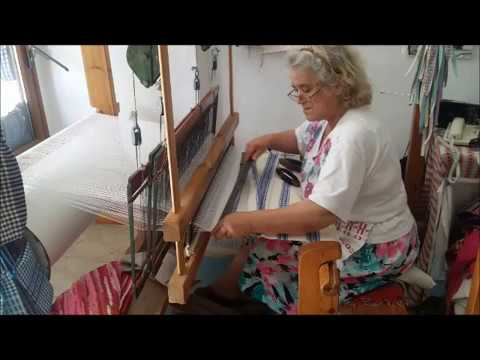 The Tradition of the Art of the Loom Weaving in Naxos, Greece