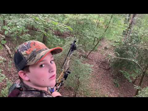 Opening Day 2019 Archery Season Whitetail Deer Georgia Diamond Bow Brady Rambo