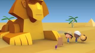 """Развивающий мультфильм: """"Считаем с Полой"""". Цифра 1. Кактус с одной веточкой."""