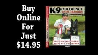 K-9 Obedience Basic Training Dvd Trailer
