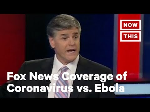 Fox News Coverage of Coronavirus vs. Ebola | NowThis