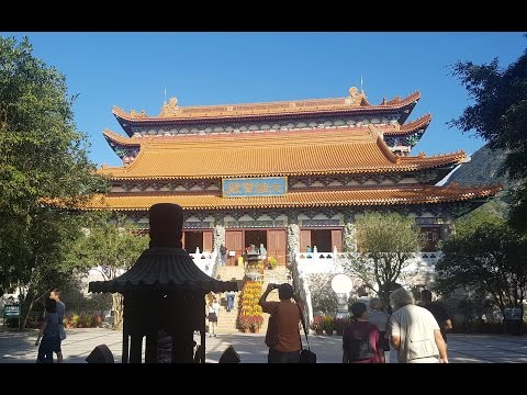 Po Lin Monastery in Hong Kong - Travel Outside Korea by Mercene Travel