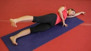 How to Exercise Your Hip Abductors & Adductors : Pilates, Stretching & Abs