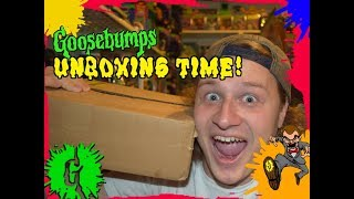 Its Time For Another Goosebumps Unboxing!