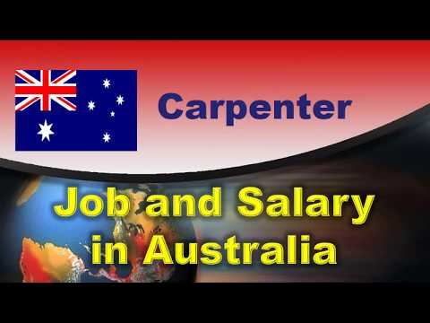 Carpenter Job And Salary In Australia - Jobs And Wages In Australia