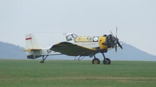 "PZL M18 Dromader  -  Polish Firefighting Aircraft PZL M18 "" Dromader """