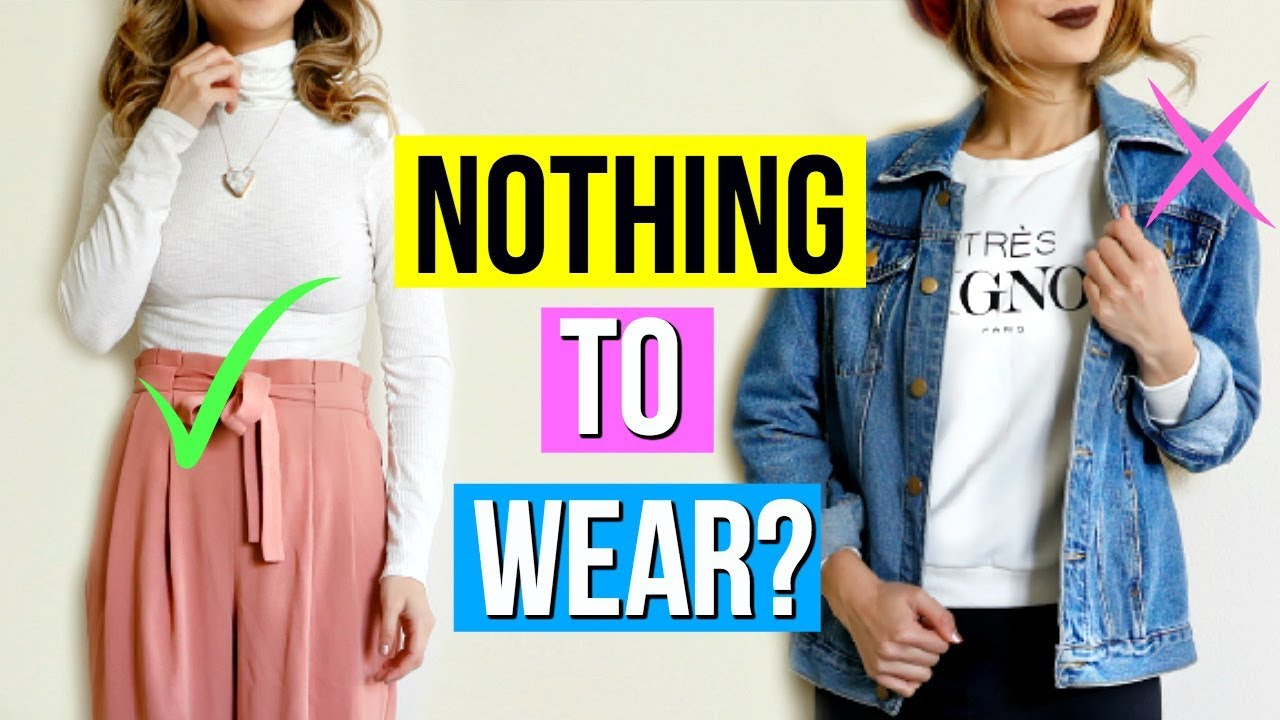 9561bb7e20 What to Wear When You Have Nothing to Wear! 11 Outfit Ideas - YouTube