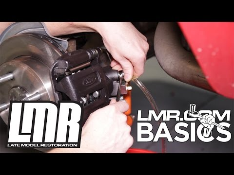 How to Bleed Mustang Brakes - LMR Basics