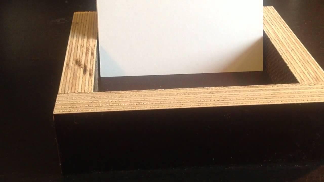 Visitenkartenbox Selber Basteln Bauanleitung