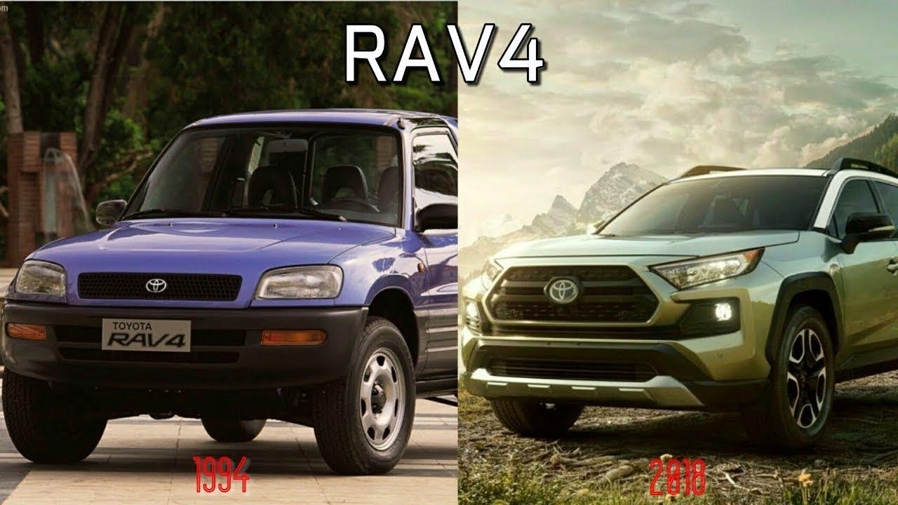 History Of Toyota Rav4