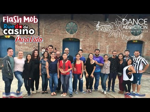 Costa Rica Rueda de Casino Flashmob 2018 by Dance Addiction