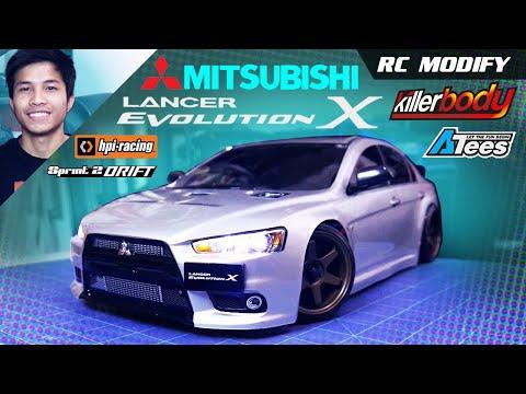 RC Modify 18 Part 1   Mitsubishi EVO X [English]