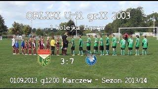 Mazur Karczew 2003 - 1 kolejka (2013/14)