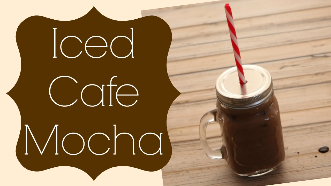 I use Starbucks original whole bean coffee and grind it to a fine espresso and brew it up in my espresso machine. I find this gives the latte the perfect taste. This recipe makes a medium Iced Mocha Latte.