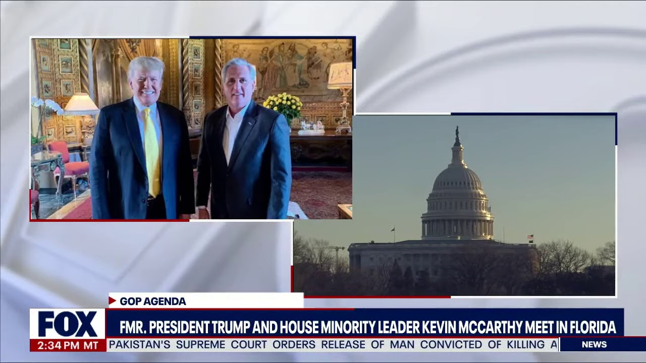 Trump and Kevin McCarthy meet in Florida