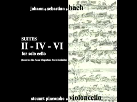 Complete Bach Cello Suites - Steuart Pincombe: Second Suite Prelude