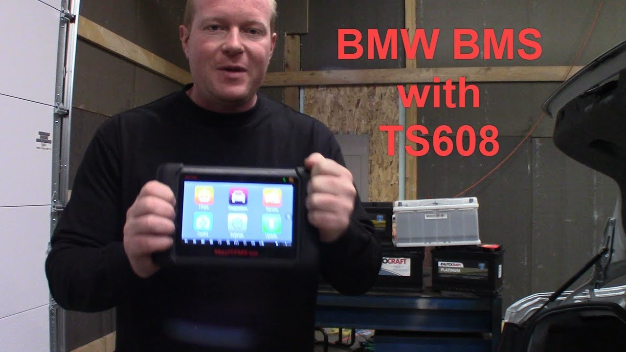 BMW Battery Registration using Autel TS608