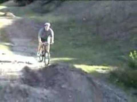 Fat Kid fall off bike - YouTube