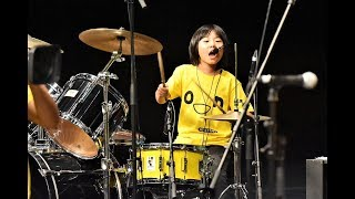 Drummer of the Month! April 2019 Little 9 Year old Yoyoka Soma Japan Amazing Skills !
