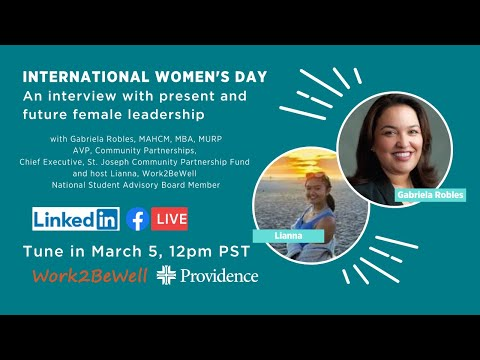 International Women's Day: An interview with present and future female leadership