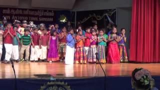 San Antonio Tamil School Pongal 2016 - Tamil Thai Vazhthu