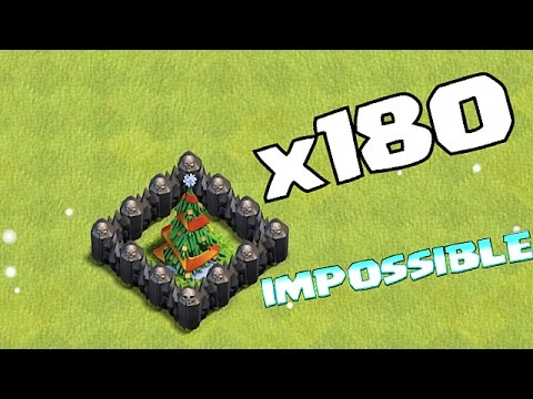 Clash Of Clans -  AWESOME x180 XMAS TREES!! (NEW UDPATE)
