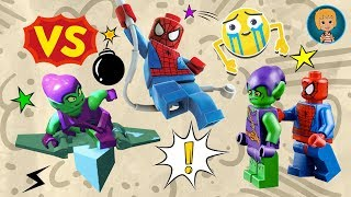 Spider Man vs Green Goblin Toys for Kids - Gertit Toys Review Super Heroes Mighty Micros Unboxing thumbnail