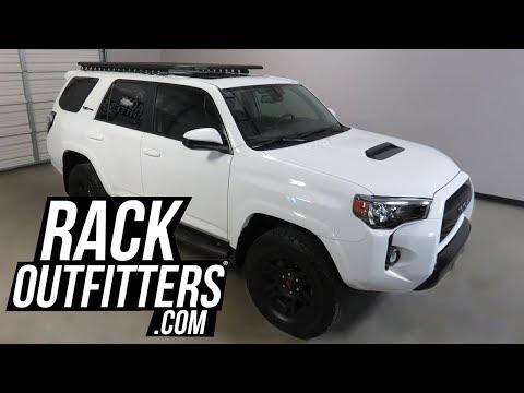 2019 Toyota 4 Runner TRD PRO with Rhino-Rack Pioneer Platform Backbone Roof Rack