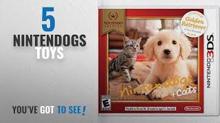 Top 10 Nintendogs Toys [2018]: Nintendo Selects: Nintendogs + Cats: Golden Retriever and New Friends